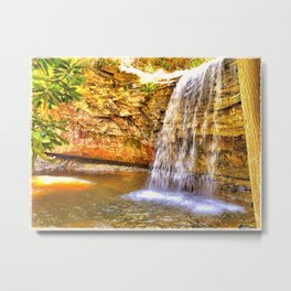 Little Stoney Falls Metal Print