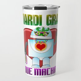 Mardi Gras Parade 2019 Beads Party Shirt Gift Idea Light Travel Mug