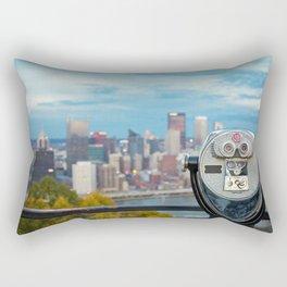 View Of Pittsburgh, Pennsylvania Rectangular Pillow