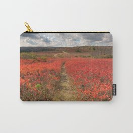 Autumn Huckleberry Trail Carry-All Pouch