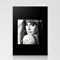 battlefield Stationery Cards featuring Lea Michele-Battlefield-Photo by Jessie Bouyea