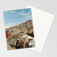 Ski Town 2 Stationery Cards