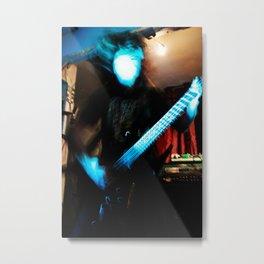 Warlock on Guitano Metal Print