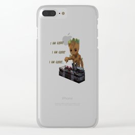 guardians galaxy Clear iPhone Case