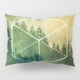 The Elements Geometric Nature Element of Earth Pillow Sham