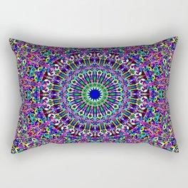 Happy Bohemian Jungle Mandala Rectangular Pillow