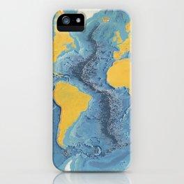 World Ocean Floor Panorama from MARIE'S OCEAN iPhone Case