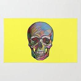 The Happy Skull (Yelow) Rug