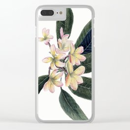 Jasmine Clear iPhone Case