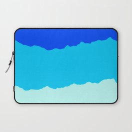 Crashing Sea Waves - Foam, Surf & Sky Laptop Sleeve