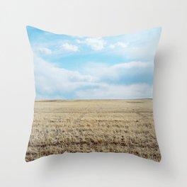 Prairie Spring Throw Pillow