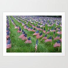 Don't Forget, America! Art Print