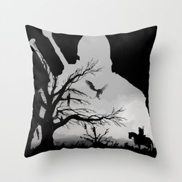 Wild Hunt Throw Pillow