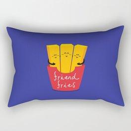 Friend Fries Rectangular Pillow