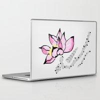 lotus Laptop & iPad Skins featuring Lotus by Vitta