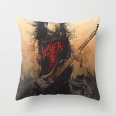Tom Araya Throw Pillow