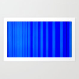 Leica Blue Art Print