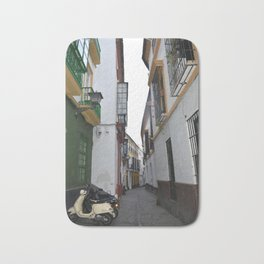 cordoba streets Bath Mat