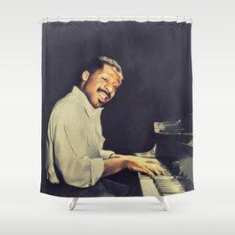 Erroll Garner, Music Legend Shower Curtain
