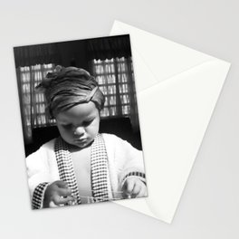 Magic - II (B&W) Stationery Cards
