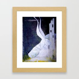 guard to the ivory tower Framed Art Print