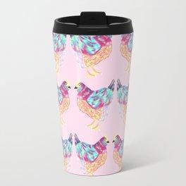 Chicken Abstract Art Travel Mug