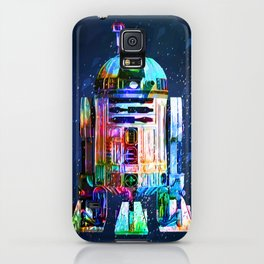 R2D2 space droid from wars star iPhone Case