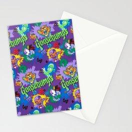Vintage 90's Pattern Stationery Cards