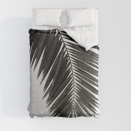 Palm Leaf Black & White I Comforters