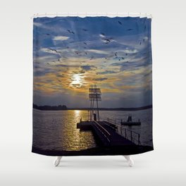 Ex Paradise of the Former Political Upperclass of the GDR in Wandlitz Shower Curtain