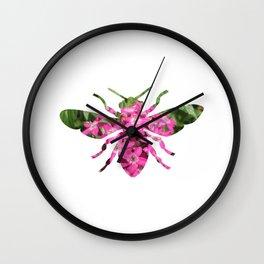 bee_dream_01 Wall Clock