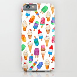 Summer Pops and Ice Cream Dreams iPhone Case