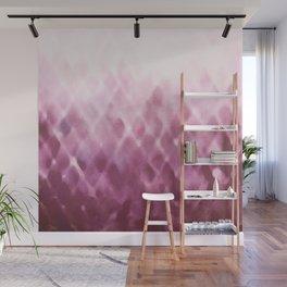 Diamond Fade in Rose Wall Mural