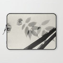Forgotten Leaves on Plastic Roof Abstract Laptop Sleeve
