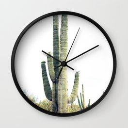 Desert Cactus Wall Art, Digital Download, Mexican Art Print, Cactus Photography, Modern Wall Art Pri Wall Clock