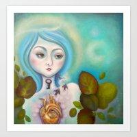 alchemy Art Prints featuring Alchemy by Natalia Olivea