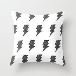 Thunder Stamped Throw Pillow