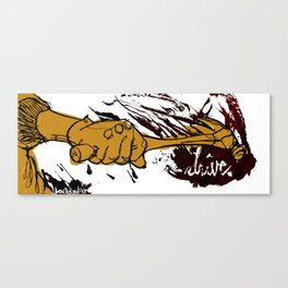 drive // Call them Canvas Print