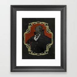 Gentleman Cthulhu Framed Art Print