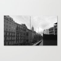 barcelona Canvas Prints featuring Barcelona. by Michaëlis Moshe