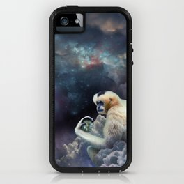 Space Gibbon iPhone Case