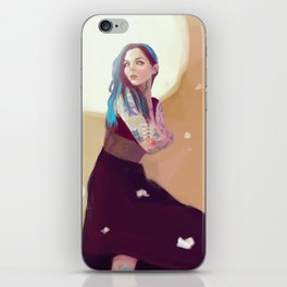 Tattooed Girl iPhone Skin