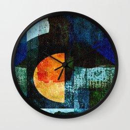 Half Moon Serenade Wall Clock