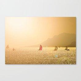 Luxury Sailing Canvas Print