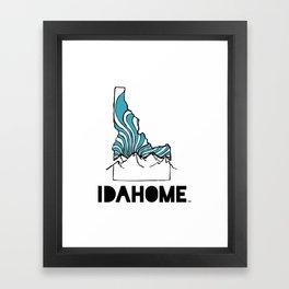 Classic Design Framed Art Print