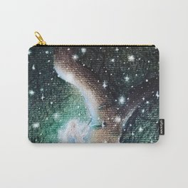 Mysterious Girl Carry-All Pouch