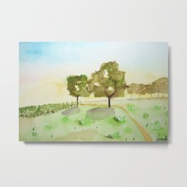 A simple landscape Metal Print