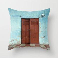 entr'apercevoir Throw Pillow