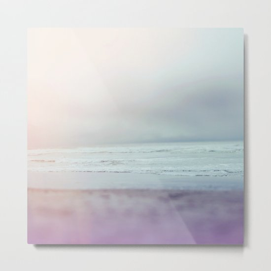 Ocean Pastel Metal Print