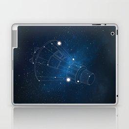Friendship Spacecraft Laptop & iPad Skin